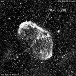 Туманность NGC 6888 - Полумесяц